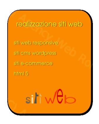 Web Agency Roma realizzazione siti internet con web design personalizzato