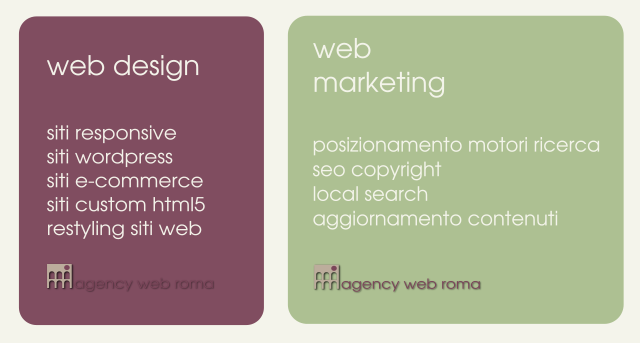 Agency Web Roma, web design, agenzia web marketing e seo