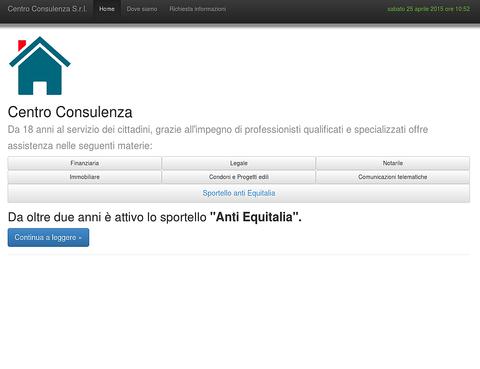 Sito web responsive del Centro Consulenza Fiumicino