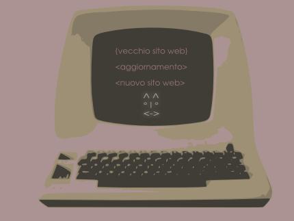 Vecchio sito web da aggiornare