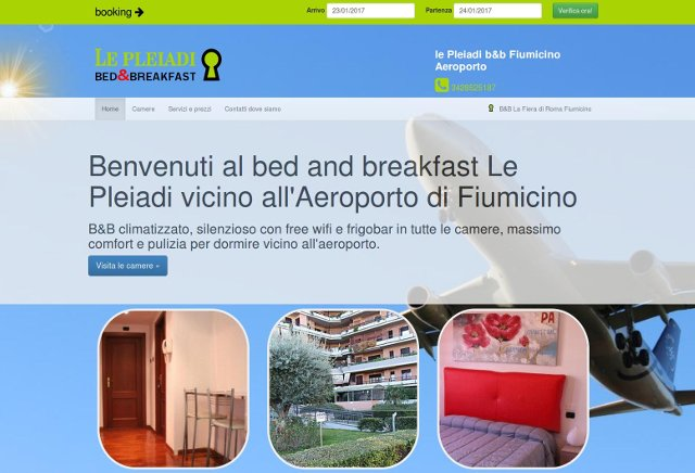 Bed and breakfast aeroporto Fiumicino
