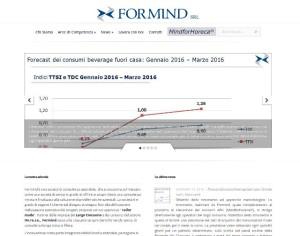 Sito web di Formind S.r.l. consulenza settore Ho.re.ca.