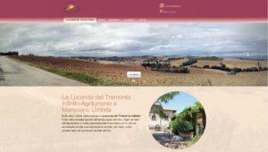 Nuovo sito web realizzato da Agency Web Roma per La Locanda del Tramonto Infinito