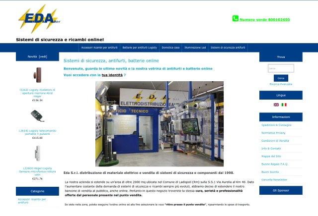 Sito e-commerce elettronica