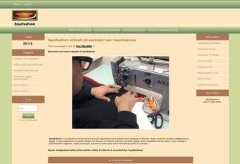 Sito e-commerce di articoli per equitazione