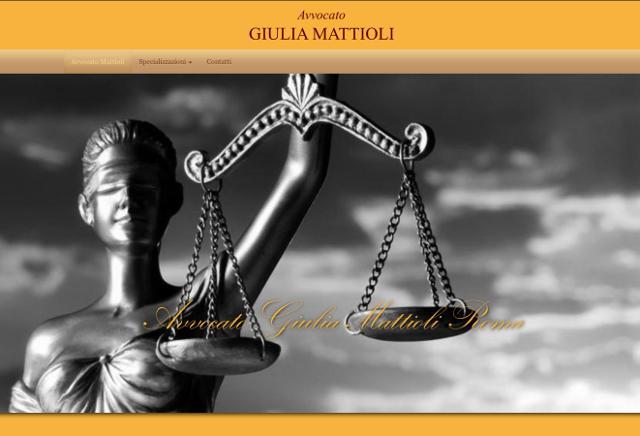 Sito Avvocato Mattioli Roma
