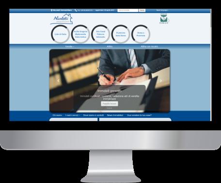 Sito web professionale per agenzia immobiliare