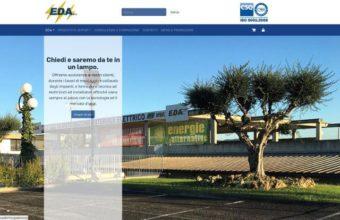 Eda Aurelia sito web restyling 2017