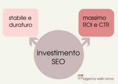 Investimento SEO per la visibilità sui motori di ricerca