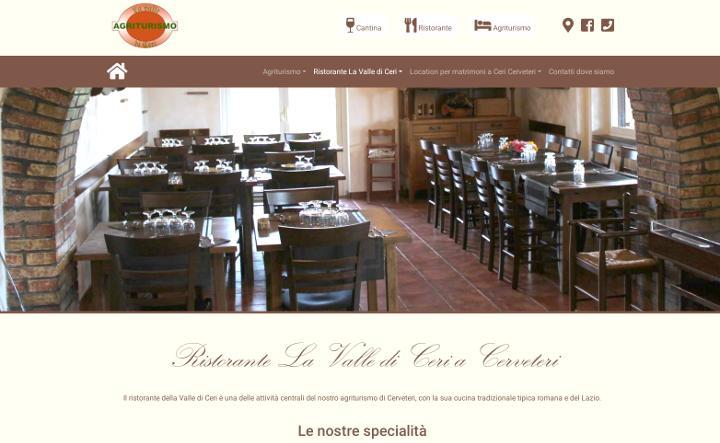 Siti web per ristoranti realizzati da Agency Web Roma