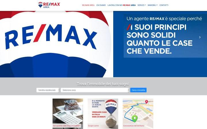 Realizzazione restyling sito web Re/Max
