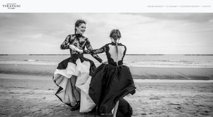Sito web per abiti da sposa