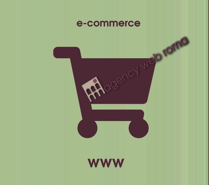Realizzazione siti e-commerce professionali con ottimizzazione SEO. Contatta la nostra agenzia web di Roma per ogni informazione sull'ecommerce.